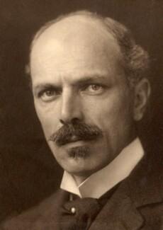 Maurice Henry Hewlett, by George Charles Beresford - NPG x18455