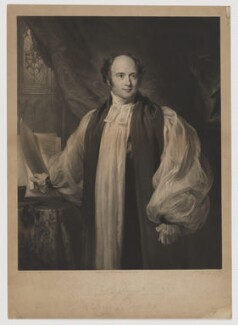 Charles Thomas Longley, by George Raphael Ward, published by  James Ryman, after  Henry Perronet Briggs - NPG D37429