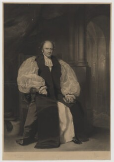 Charles Thomas Longley, by James Faed the Elder, published by  Paul and Dominic Colnaghi & Co, after  Sir Francis Grant - NPG D37431