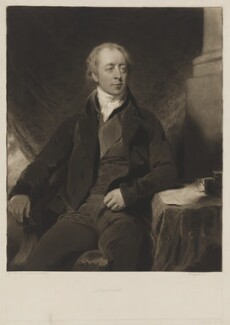 William Lowther, 1st Earl of Lonsdale, by Charles Turner, after  Sir Thomas Lawrence - NPG D37435