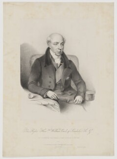 William Lowther, 1st Earl of Lonsdale, by and published for Richard James Lane, printed by  Jérémie Graf, after  Jacob Thompson - NPG D37436