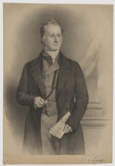 William Lowther, 2nd Earl of Lonsdale, by Vincent Brooks, after  Sir Francis Grant - NPG D37437