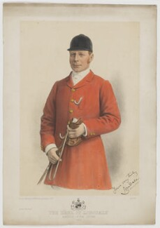 Hugh Cecil Lowther, 5th Earl of Lonsdale, published by W.H. Coaten - NPG D37438