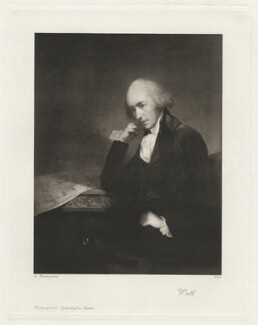 James Watt, published by Photographische Gesellschaft, after  Carl Fredrik von Breda, circa 1910 (1792) - NPG D37898 - © National Portrait Gallery, London
