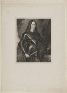 William Kerr, 3rd Earl of Lothian, by Henry Meyer, after  William Hilton, after  George Jamesone - NPG D37443