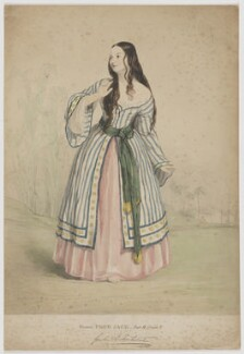 Guilia (or Giulia) H. Fortescue as Eleanor in 'Poor Jack', by Unknown artist - NPG D37760