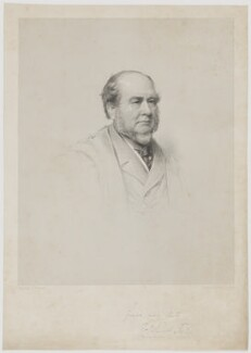 Charles Finch Foster, by George Baird Shaw, after  Lowes Cato Dickinson - NPG D37762