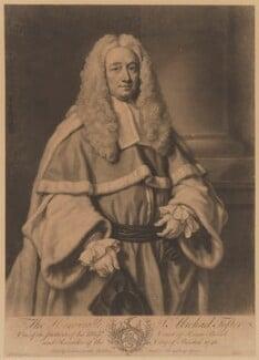 Sir Michael Foster, by John Faber Jr, after  James Wills - NPG D37767