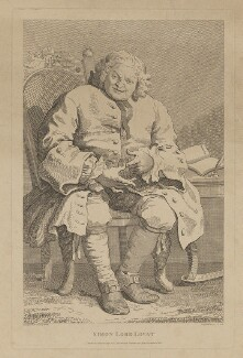 Simon Fraser, 11th Baron Lovat, by Thomas Cook, published by  George, George and John Robinson, after  William Hogarth, published 1 December 1800 (1746) - NPG D37452 - © National Portrait Gallery, London