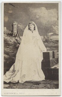 Ellen Terry as Desdemona in 'Othello', by Southwell Brothers - NPG x16990