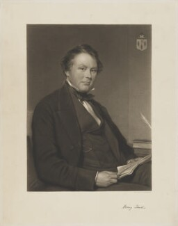 Sir Henry Foulis, 9th Bt, by Thomas Lewis Atkinson, after  George Richmond - NPG D37769