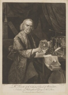 Richard Lovett, by Robert Hancock, published by  William Richardson, after  Joseph Wright - NPG D37460
