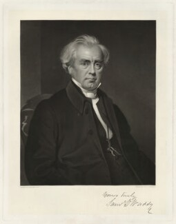 Samuel Dousland Waddy, by Robert Bowyer Parkes, after  William Gush - NPG D37966