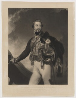 Henry Cecil Lowther, by George Henry Phillips, published by  Martin Colnaghi, after  Sir Thomas Lawrence, published April 1831 (1818) - NPG D37469 - © National Portrait Gallery, London