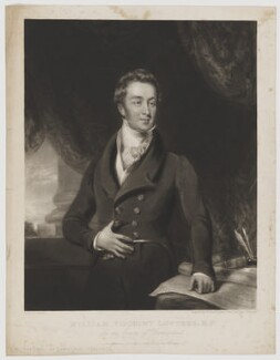 William Lowther, 2nd Earl of Lonsdale, by William Ward, published by and after  James Ward - NPG D37472