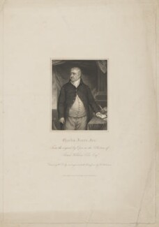 Charles James Fox, by John Henry Robinson, published by  Harding & Lepard, after  William Derby, after  John Opie - NPG D37782