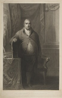 Charles James Fox, by Robert Bowyer, after and published by  William Bromley - NPG D37784