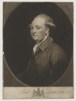 Charles Bingham, 1st Earl of Lucan, by and published by John Jones, after  Sir Joshua Reynolds - NPG D37475