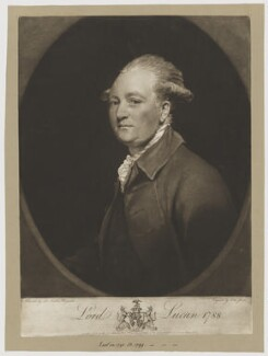 Charles Bingham, 1st Earl of Lucan, by and published by John Jones, after  Sir Joshua Reynolds - NPG D37476