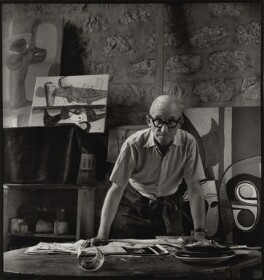 Le Corbusier, by Ida Kar, 1954 - NPG  - © National Portrait Gallery, London