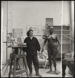 Germaine Richier, by Ida Kar - NPG x132960