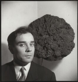 Yves Klein, by Ida Kar, 1957 - NPG  - © National Portrait Gallery, London