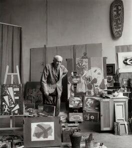 Georges Braque, by Ida Kar, 1960 - NPG x132964 - © National Portrait Gallery, London