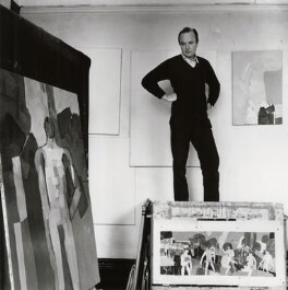 Keith Vaughan, by Ida Kar, 1960 - NPG x132967 - © National Portrait Gallery, London
