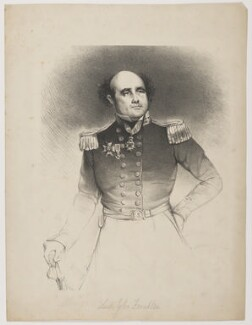 Sir John Franklin, after Joseph Mathias Negelen - NPG D37794