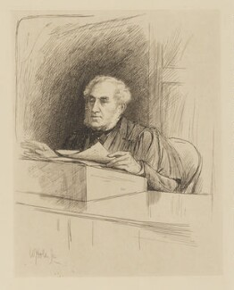 James Stuart Fraser-Tytler, by William Brassey Hole - NPG D37800