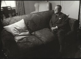 Somerset Maugham, by Ida Kar, 1958 - NPG  - © National Portrait Gallery, London