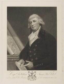 Sir William Fraser, 1st Bt, by Benjamin Smith, after  George Romney - NPG D38427