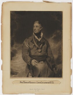 Thomas Graham, Baron Lynedoch, by Henry Meyer, after  Sir Thomas Lawrence - NPG D38043