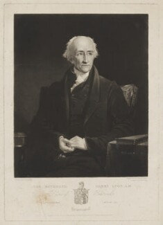 James Lyon, by Samuel William Reynolds, published by  Agnew & Zanetti, after  James Lonsdale - NPG D38044