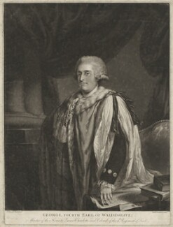 George Waldegrave, 4th Earl Waldegrave, by Richard Earlom, after  John Francis Rigaud - NPG D37979