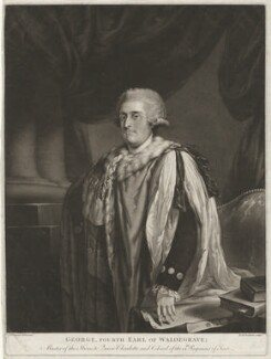 George Waldegrave, 4th Earl Waldegrave, by Richard Earlom, after  John Francis Rigaud - NPG D37980