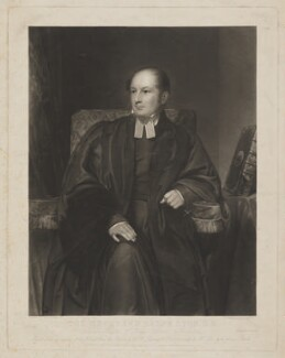Ralph Lyon, by and published by Charles Edward Wagstaff, printed by  Brooker & Harrison, published by  William Simon Penny, after  Henry William Pickersgill - NPG D38045