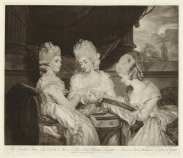 'The Ladies Waldegrave', by and published by Valentine Green, after  Sir Joshua Reynolds - NPG D37981