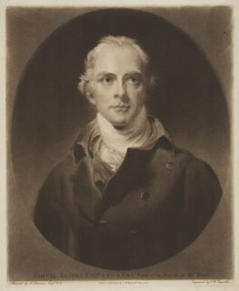 Samuel Lysons, by and published by Samuel William Reynolds, after  Sir Thomas Lawrence - NPG D38048