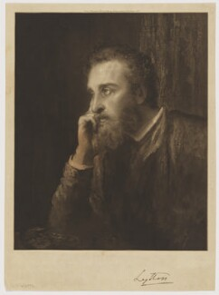 Edward Robert Bulwer-Lytton, 1st Earl of Lytton, published by Arthur Lucas, after  George Frederic Watts, published 20 February 1893 (1884) - NPG D38054 - © National Portrait Gallery, London