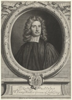 George Walker, by and published by Peter Vanderbank (Vandrebanc), after  Sir Godfrey Kneller, Bt - NPG D37991