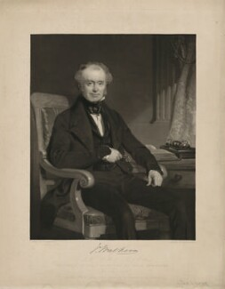 James Walker, by Samuel Bellin, printed by  Brooker & Harrison, after  John Prescott Knight - NPG D37993