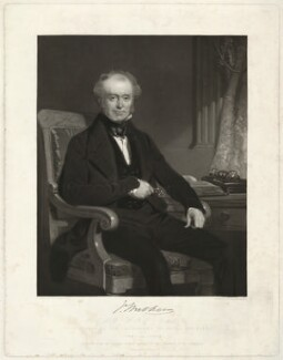 James Walker, by Samuel Bellin, printed by  Brooker & Harrison, after  John Prescott Knight - NPG D37994