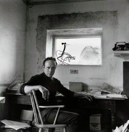 Patrick Heron, by Ida Kar, 1961 - NPG  - © National Portrait Gallery, London