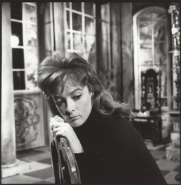 Maggie Smith on the set of 'The Rehearsal', by Ida Kar, 1961 - NPG  - © National Portrait Gallery, London