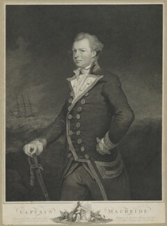 John Macbride, by and published by James Fittler, after  James Northcote - NPG D38064
