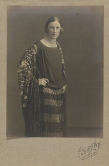 Mabel Lucie Attwell, by Elliott & Fry, circa 1924 - NPG P1363 - © National Portrait Gallery, London