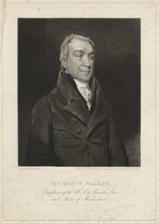 William Walker, by William Ward, after  John Constable - NPG D38005