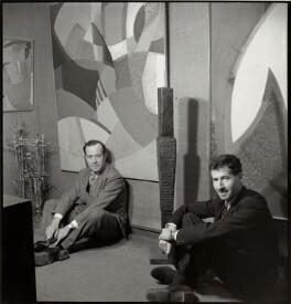 Charles Gimpel; Peter Gimpel, by Ida Kar - NPG x132990