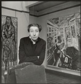 Helen Lessore, by Ida Kar, 1959 - NPG x132991 - © National Portrait Gallery, London